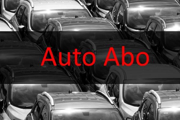 Auto Abo Anbieter stellen für eine Flatrate ein Fahrzeug zur Verfügung