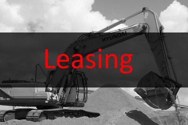 Bagger Leasing – Einzelne Schritte ausführlich erklärt