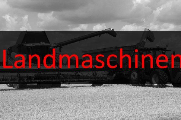 Landmaschinen Finanzierung